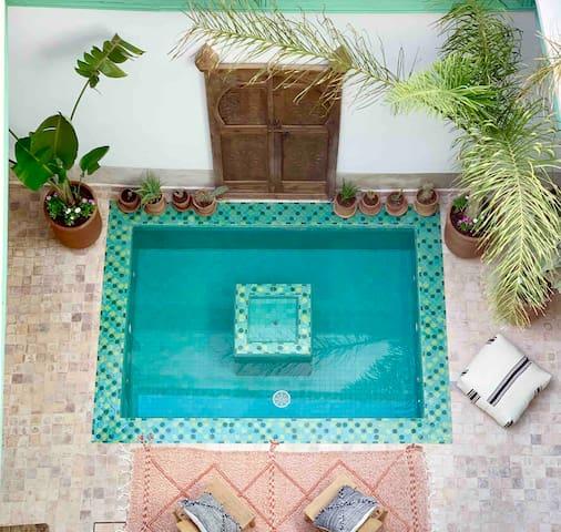 Riad Dar Maloukti, un paradis à 10 min de la place