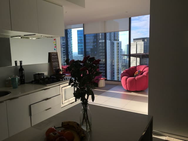 Spacious apartment in the heart of Melbourne - Southbank - Apartment