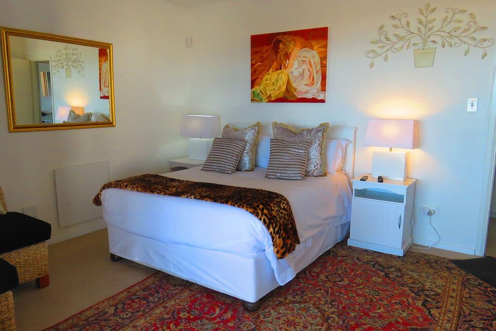 Main bedroom in Luxury unit