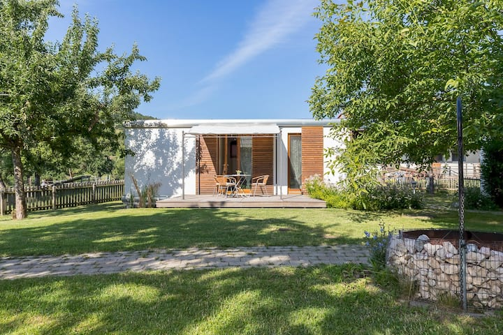 """Charming Holiday Home """"Ferienhaus am Sedelbach"""" with Wi-Fi, Terrace & Garden; Parking Available"""