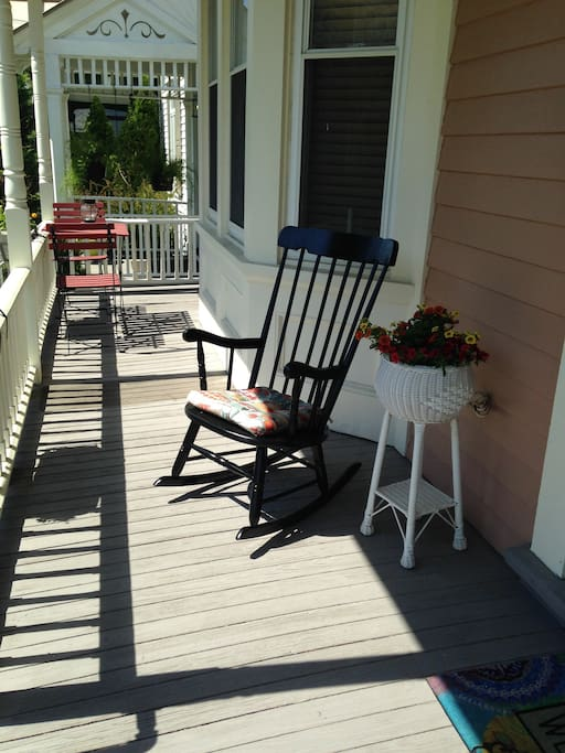 Shady Rocking Chair Porch