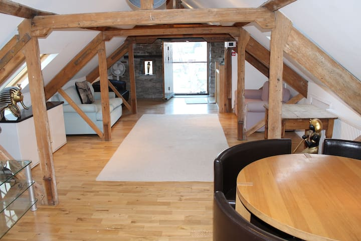 Waterfront Loft Space in the Barbican Area