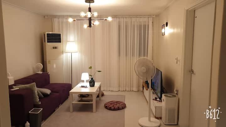 #Residence villa #레지던트빌라#유럽스타일 큰방 (다른공간은  게스트와 공유)