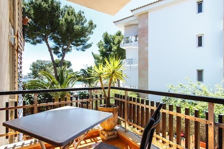 Beachfront apartment in Palmanova