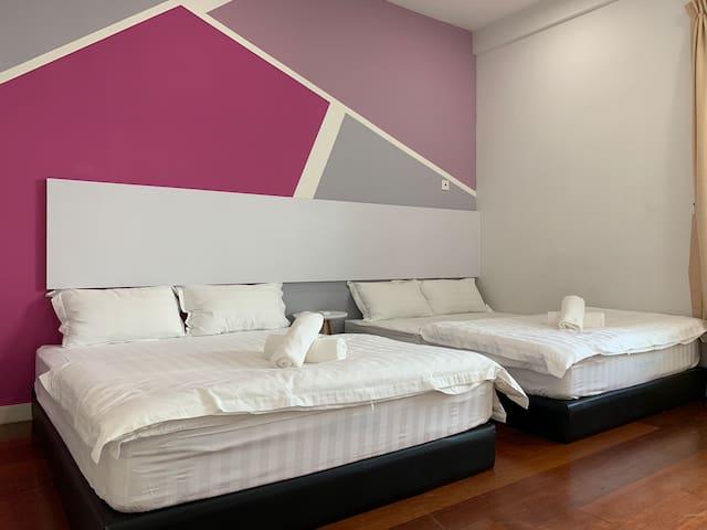 两人-四人式摩登温馨imago the loft 位於亚庇市中心/ 1房式imago 房子