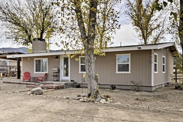 NEW! 2BR Frazier Park House on Ranch w/ Mtn Views!