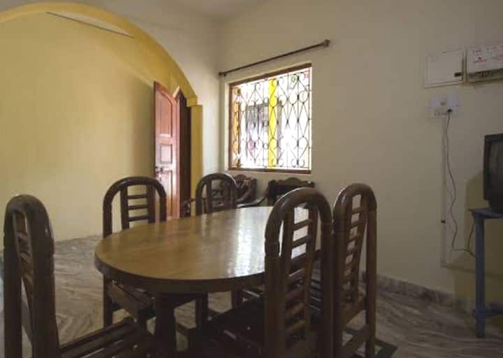 3BHK House less than a KM away from beach