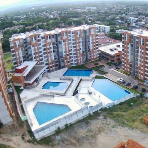 Apartamento para Descanso - 吉拉爾多 - 公寓