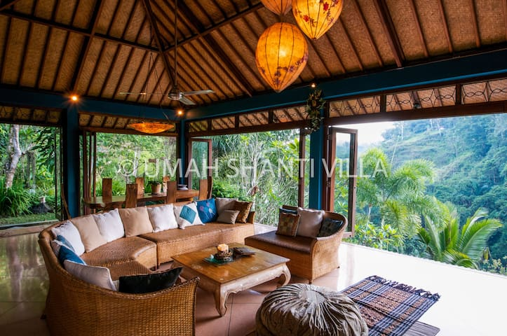 Private and relaxing 3 bedroom villa in Ubud Bali - Tegalalang - 別墅