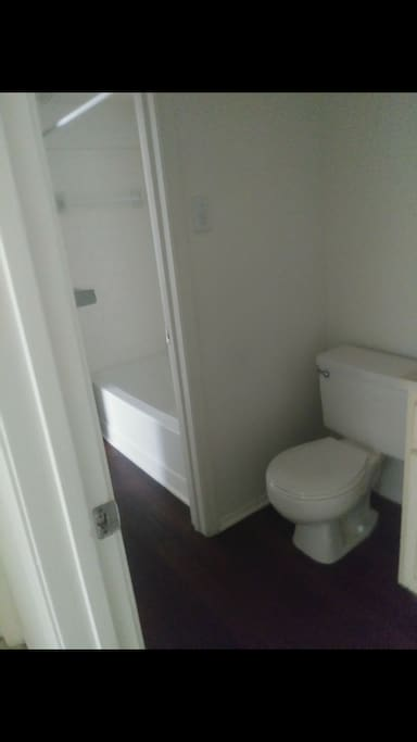 private toilet and shared Bath