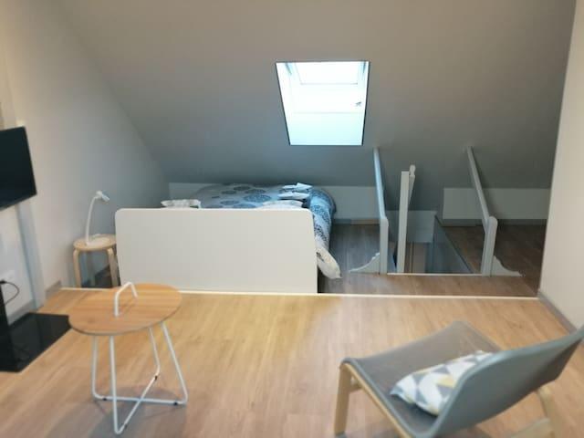 The Duplex Suite - Chambre familiale 1 à 5 pers.