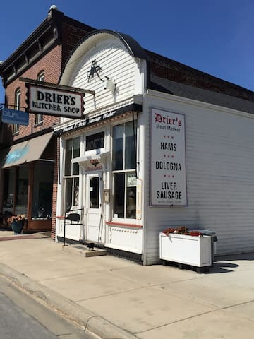 World Famous Drier's Butcher Shop.
