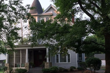 Victorian getaway on Route 66 - Carlinville - Haus