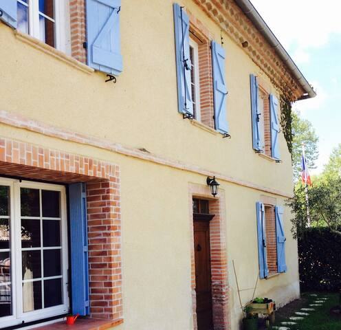 Jolie maison de village - Parisot - Rumah