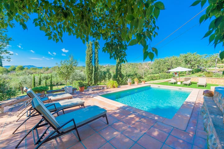 Es Garroveral 3 - fantastic house with pool - Bunyola - Hus