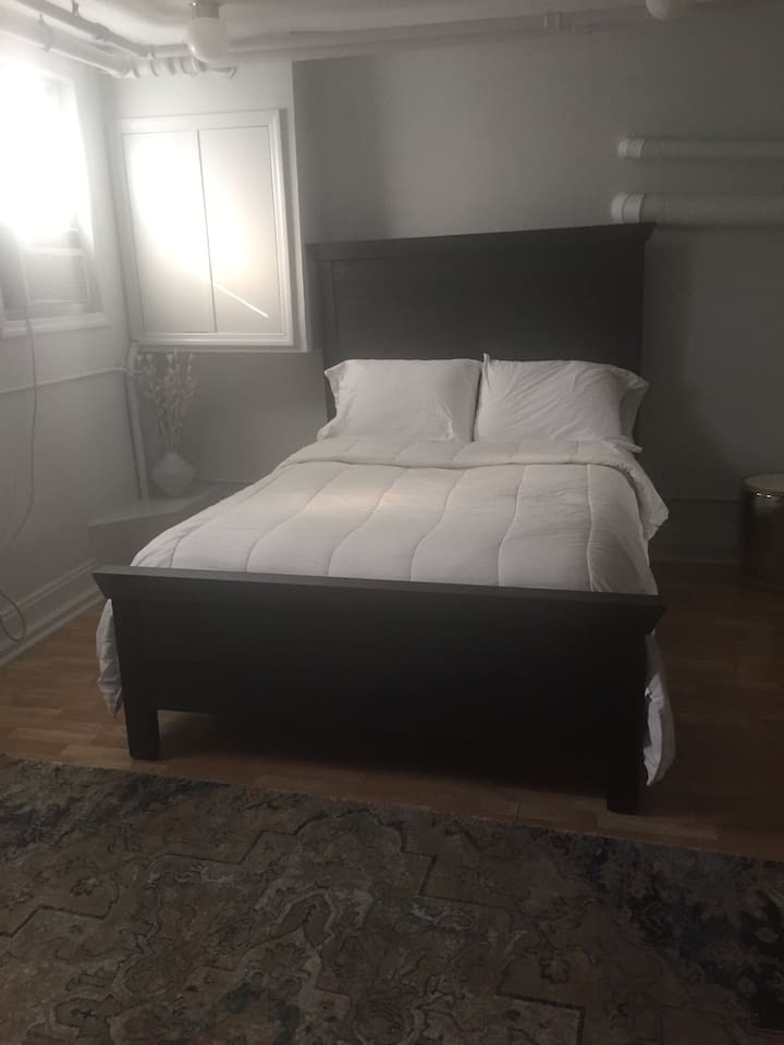 Thick futon mattress and boxspring