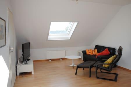 Helle, freundliche und ruhige Dachgeschosswohnung - Issum - Lägenhet