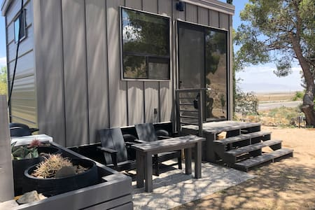 "NEW ""TINY"" HOME w/ expansive views of the Sierras"