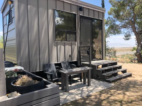 """NEW """"TINY"""" HOME w/ expansive views of the Sierras"""