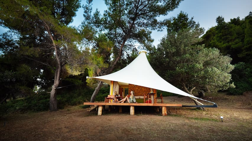 Deluxe Camping on private beach! - iCamp max 2