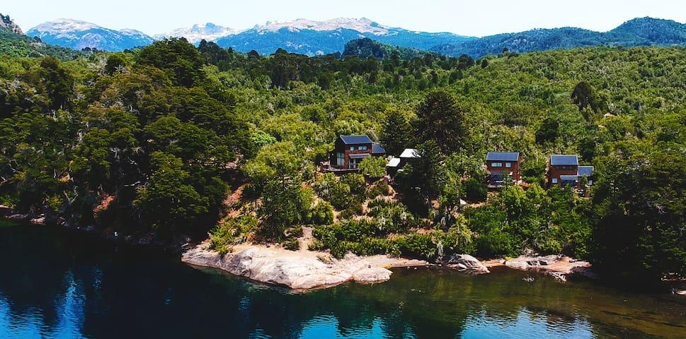 Roca del Lago Cabañas de Bosque en Villa Pehuenia