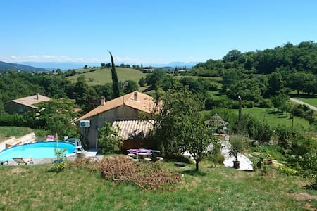 Des anges, du repos, la nature... Chez Chris - Veyras, Auvergne-Rhône-Alpes, FR - Hus