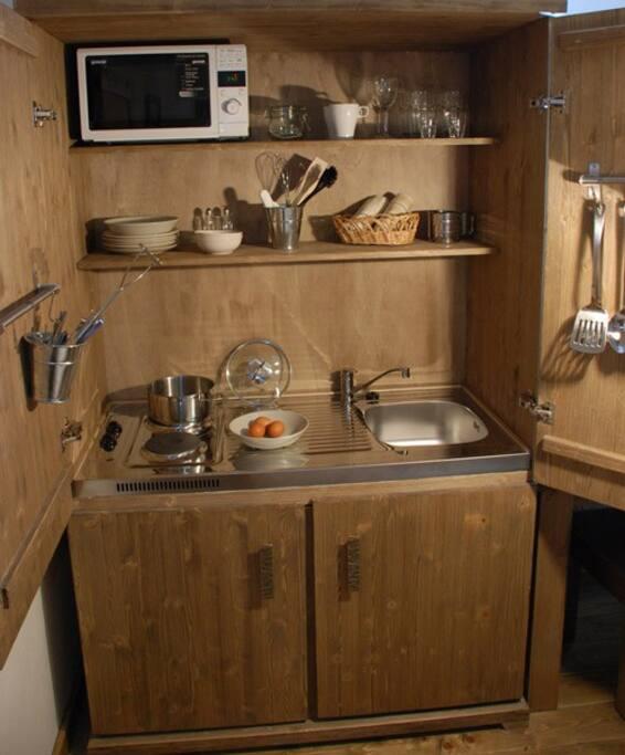 Studio / kitchen