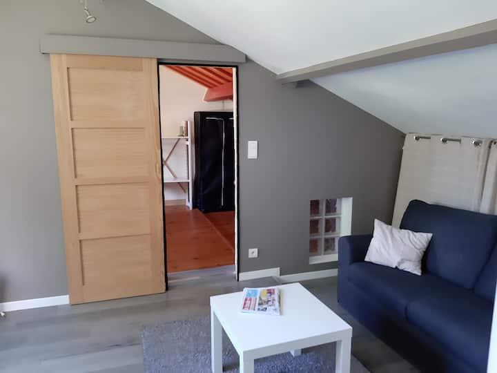 Agréable appartement et chaleureux