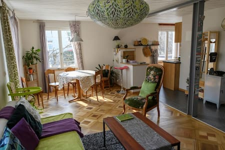 BULLE : BRIGHT APARTMENT IN GRUYERE'S COUNTRY