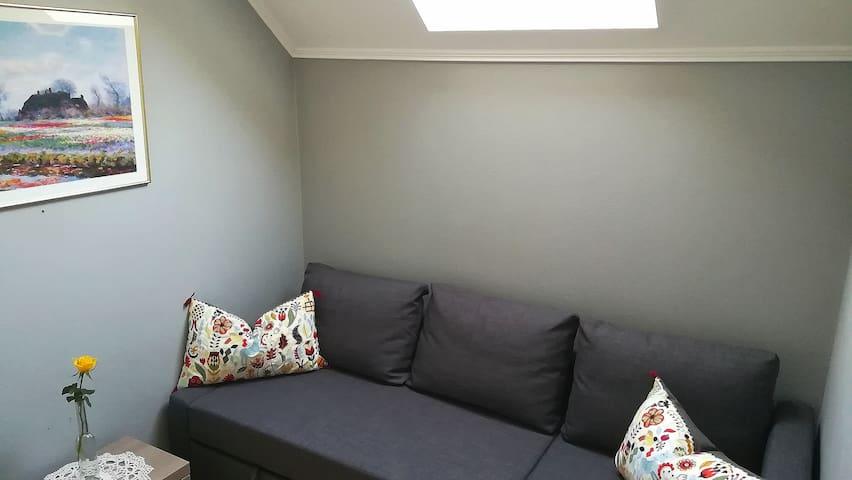 Zimmer 2 als Wohnzimmer