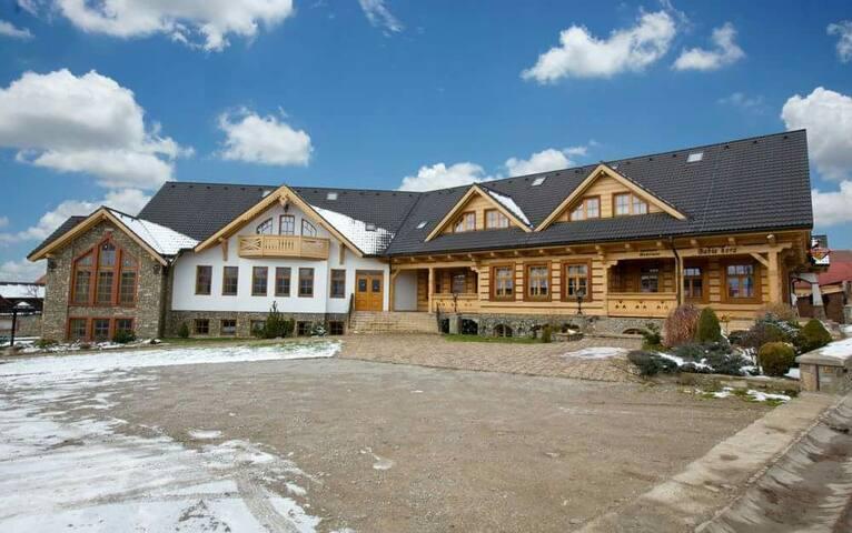 Ùtulná izba v Hostinci Babia hora - Oravská Polhora - Pis