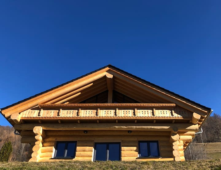 Traumhaftes Blockhaus im Tiroler Oberland