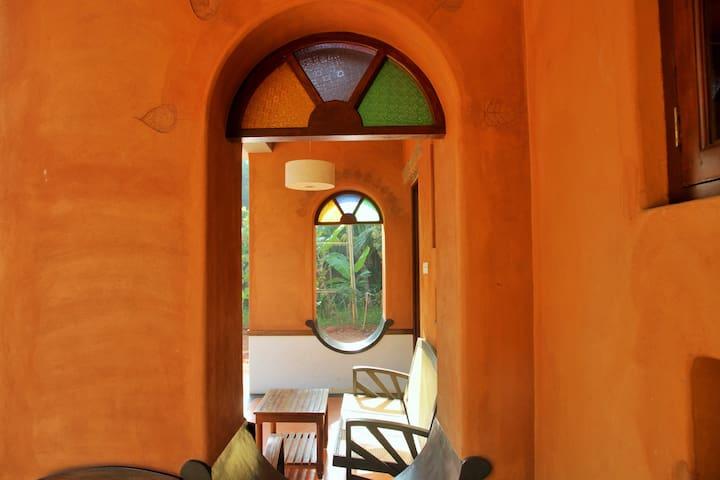 Anpu guest room, near Auroville