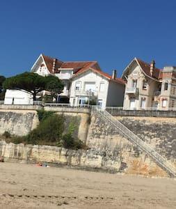 sur la falaise, Super  vue mer accès plage devant. - Vaux-sur-Mer - Loft