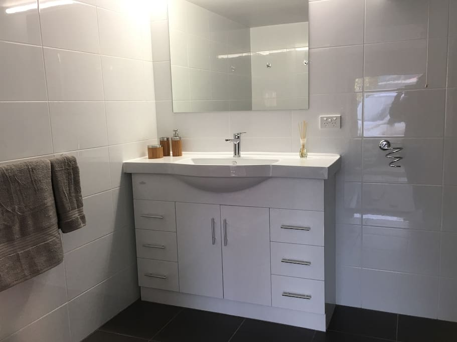 New bathroom just finished.