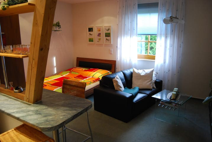 Country Apartment near Leipzig - Großpösna - Apartemen