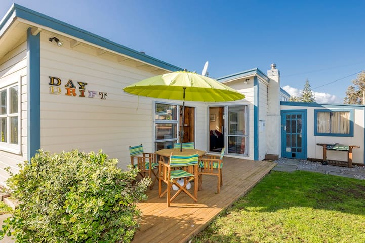 Daydrift Cottage, Rangiuru on Sea - Otaki Beach - 一軒家
