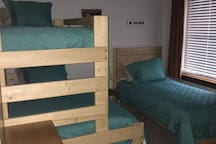 Bedroom 2  With Bunks