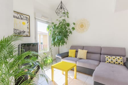 SUPERB DUPLEX BETWEEN MONTPELLIER AND PALAVAS FLOTS