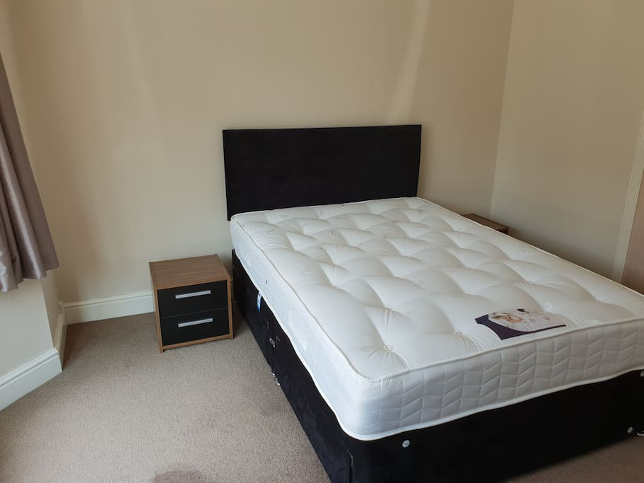 Brand New Modern Double Bed with Plenty of Under Bed Storage!