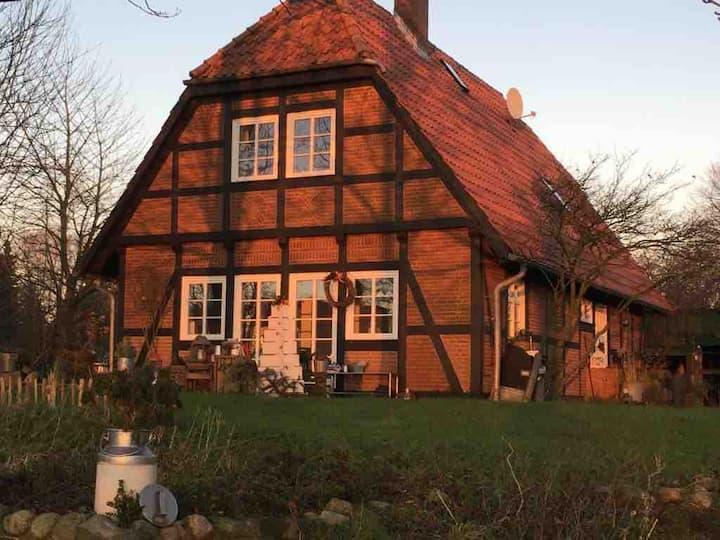 """Ferienhaus """"Fjordblick"""" Fachwerkhaus an der Schlei"""