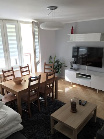 Comfortable flat with 3 bedrooms (6 people)