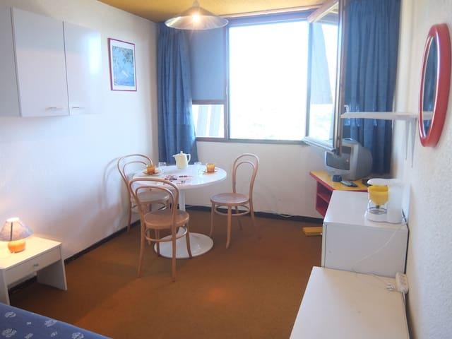 Appartement Vostok Zodiaque 16 m² à Le Corbier