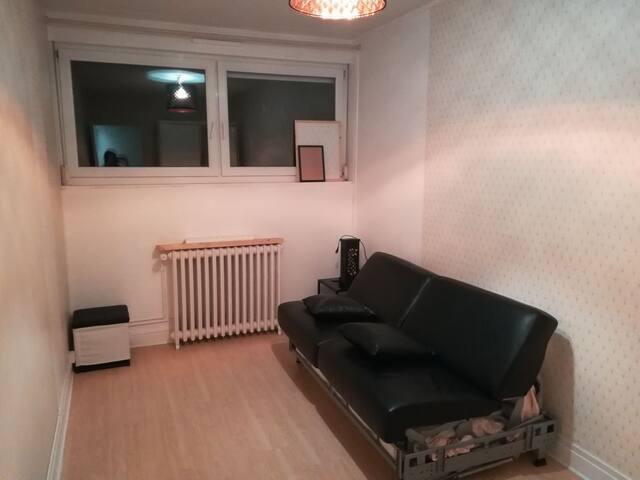Chambre privée dans appt lumineux