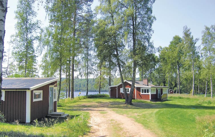 Holiday cottage with 2 bedrooms on 67 m² in Mullsjö