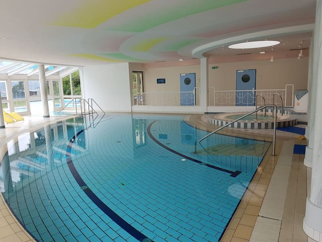 Hauseigene Therme Appartment im Biodorf Wilfinger