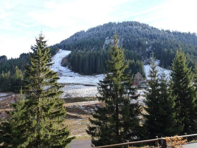 COL-EDE-A01: studio au calme vue sur les montagne
