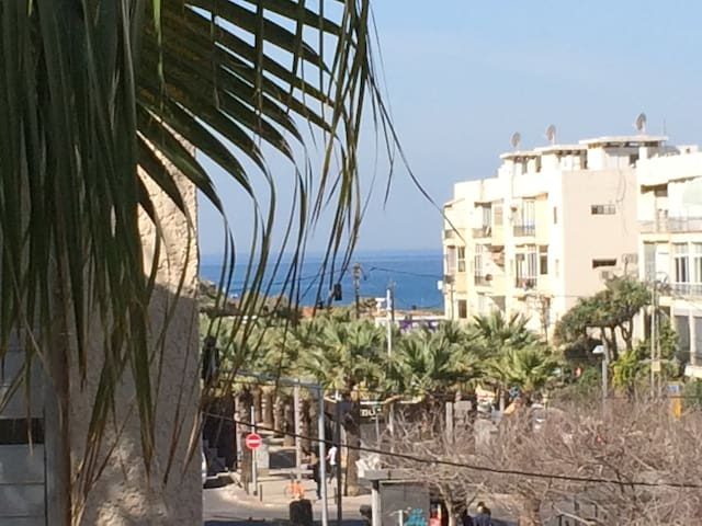 Charming, well located, 5 min from beach, sea view - Tel Aviv-Yafo - Wohnung