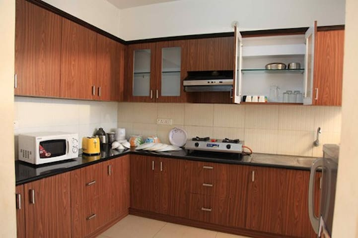 2 bhk Service Apartment  rent basis in Hebbal.