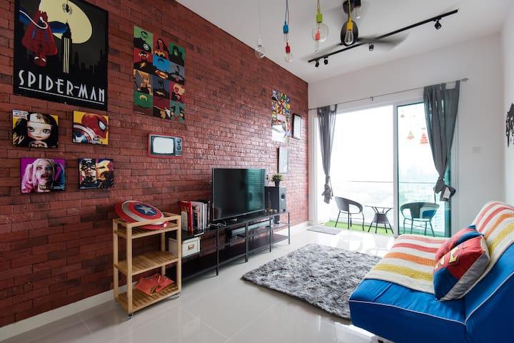 Superhero safe house by SuperHost
